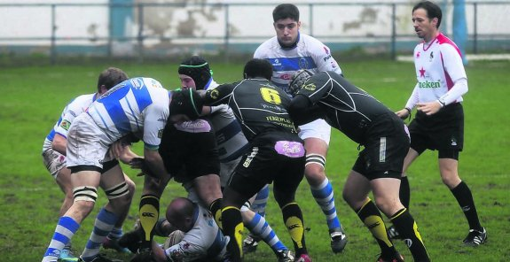Sergio Lopez . Belenos. Burgos. Ascenso. Rugby