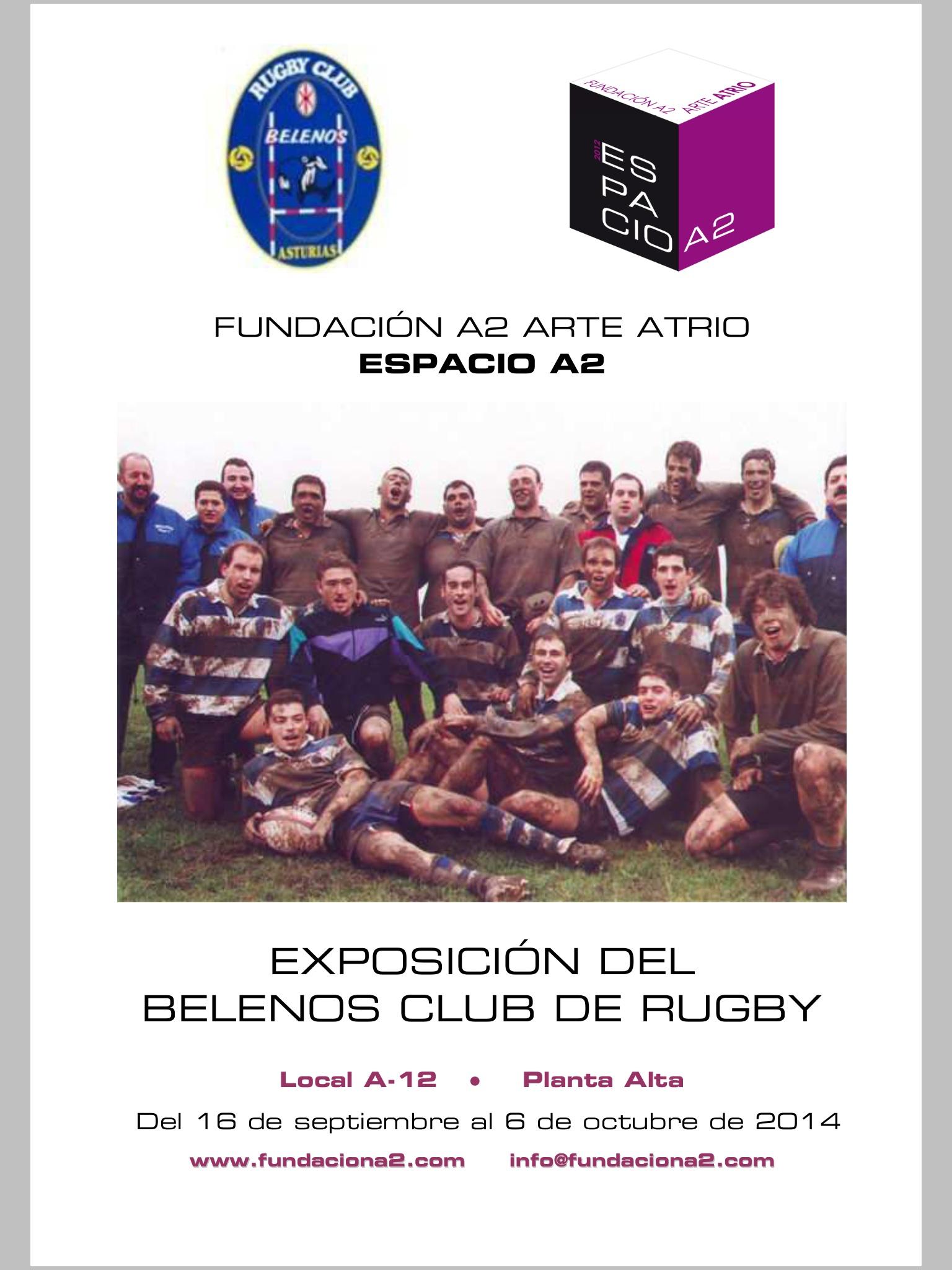 Cartel exposición El Atrio