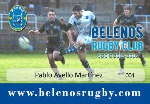 BELENOS Carnet Socio 2015-2016
