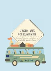 Cartel Encuentro ciudadano Saint Nazaire